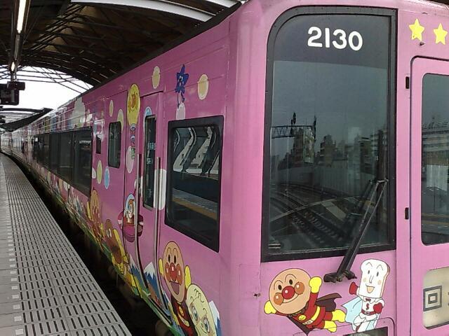 アンパンマン列車に乗って